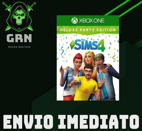 The Sims 4 Edição Festa Deluxe - Xbox One - Mídia Digital