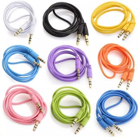 Cable Auxiliar 3.5mm Plug A Plug Macho A Macho 1 M