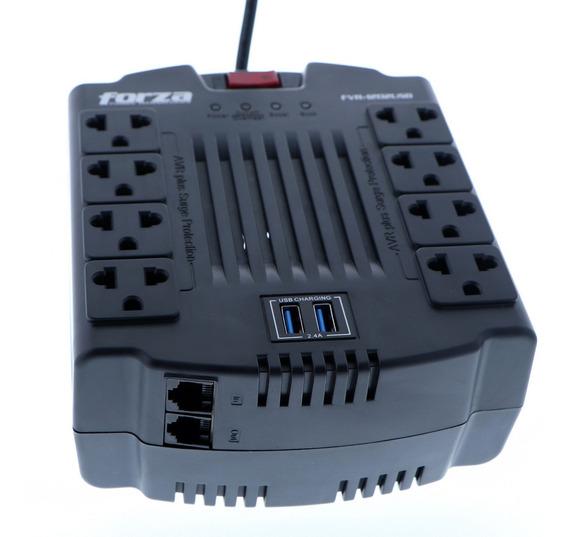 Regulador De Voltaje Forza Mod. Fvr-1202usb