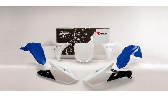 Kit Plastico 7 Peças Yamaha Yz F 250 14 18 R-kityzf-bl0-514