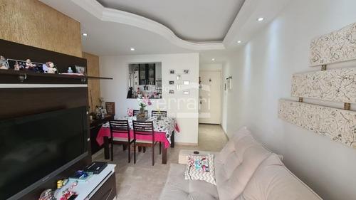 Imagem 1 de 15 de Apartamento Com 2 Dormitórios, 1 Vaga De Garagem- Sacada - Cf34828