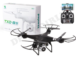 Drones Camara S8 Wifi 2mp Video Tiempo Real Vr 20 Min Vuelo