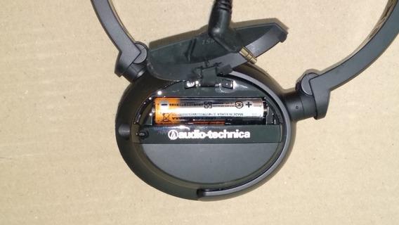 Fone De Ouvido C/ Redutor Ruído - Audio Technica