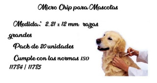 Micro Chip Para Mascotas
