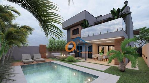Imagem 1 de 9 de Sobrado Com 4 Dormitórios À Venda, 240 M² Por R$ 1.350.000 - Rio Abaixo - Atibaia/sp - So0286