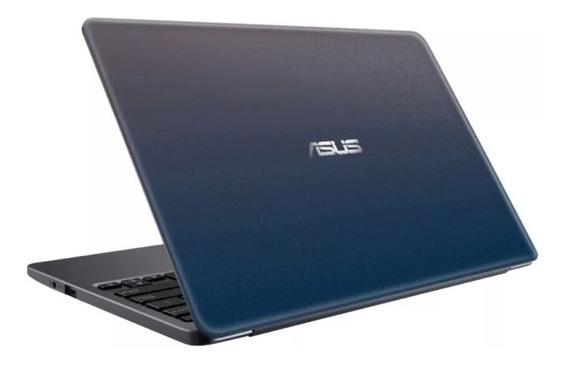Notebook Netbook Asus E203m 4gb 32gb 11.6 W10 Azul Oferta