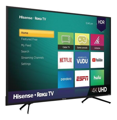 Imagen 1 de 4 de Pantalla Hisense 75r6e3 75 Pulgada Uhd 4k Roku Smart Tv 2020