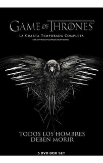 Dvd - Game Of Thrones - Juego De Tronos - Temporada 4