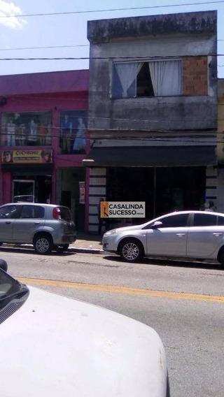 Prédio Comercial 5 Casa 2 Salões Em Avenida - Pr0092 - Pr0092