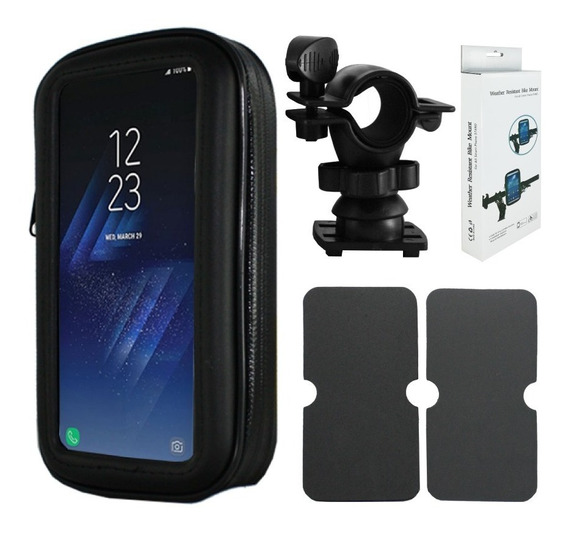 Funda Touch Porta Celular Gps Soporte Moto Impermeable Nsr