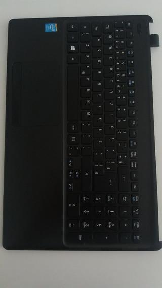 Teclado Carcaça Original Notebook Acer Aspire E1-572
