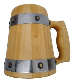 Caneca Medieval - Pinheiro Resinada - Vikings - Hidromel