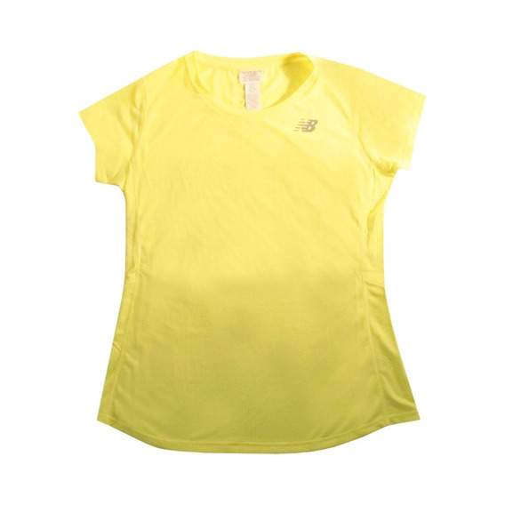 Remera New Balance Mujer Accelerate Short Sleeve ( Wt73128sr