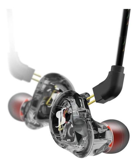 Fone In Ear 2 Driver Stagg Smp-235 Bk Fone Retorno De Palco