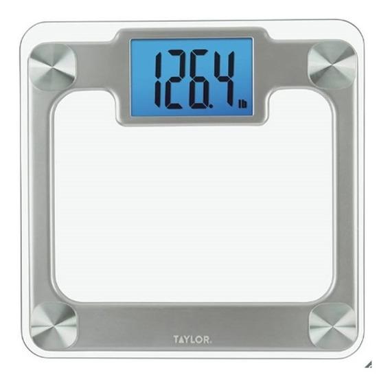 Bascula Digtal De Vidrio Templado Hasta 200kg Taylor/noomron