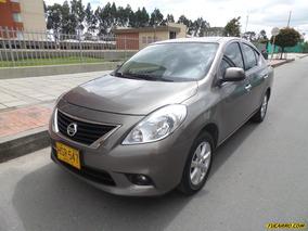 Nissan Versa Advance At 1600cc 2ab Abs