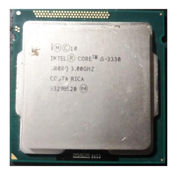 Processador Intel Core I5-3330 Quad-core Sr0rq