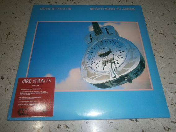 Dire Straits - Brothers In Arms Lp Duplo Importado 180 Gram