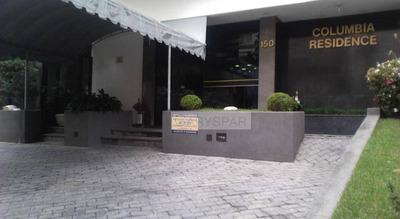 Flat Para Locação Com 1 Dormi. 1 Vaga E 42m² No Jardim Paulista - Fl4568