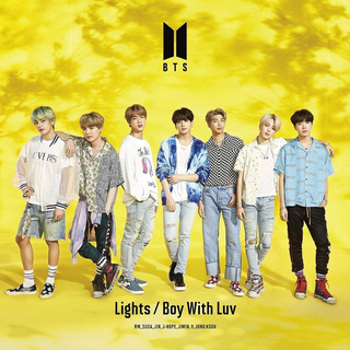 Cd Bts - Lights Boy With Luv (music Videos) - Importado