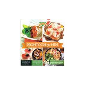 Livro Culinária - Pronto Em 30 Min