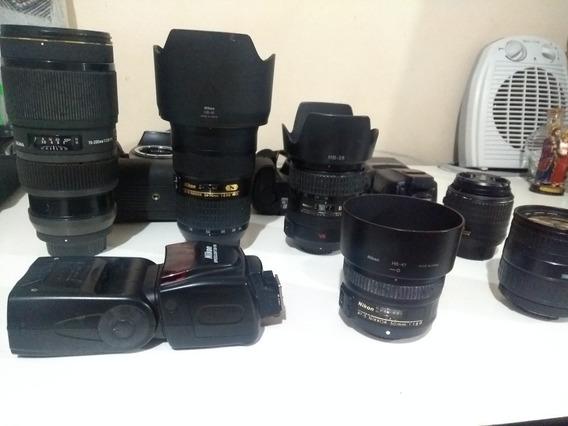 Equipamentos Fotográficos. Nikon