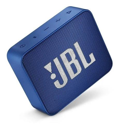 Caixa De Som Bluetooth 5.0 Jbl Go 2 Deep Sea Blue Promoção