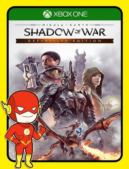 Middle Earth Shadow Of War Definitive Xbox - (25 Digitos)