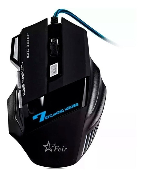 Mouse para jogo Feir FR-404 preto