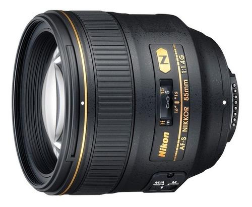 Lente Nikon Af-s Nikkor 85mm F/1.4g - Pouquíssimos Disparos