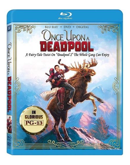 Deadpool Edicion Once Upon Pelicula Blu-ray + Dvd