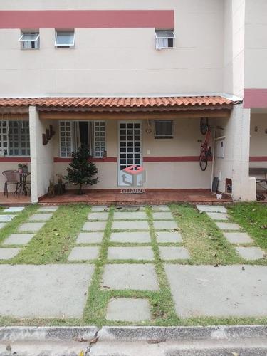 Imagem 1 de 15 de Sobrado À Venda, 3 Quartos, 2 Vagas, Metalúrgica - Santo André/sp - 75107
