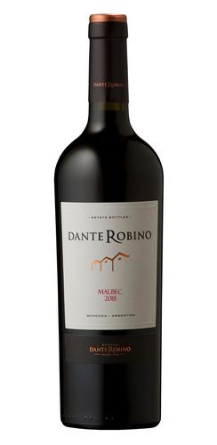 Vino tinto Malbec Dante bodega D. Robino 750ml
