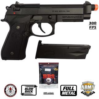Pistola Airsoft Beretta Gpm92 Full Metal - G&g - Gbb 4