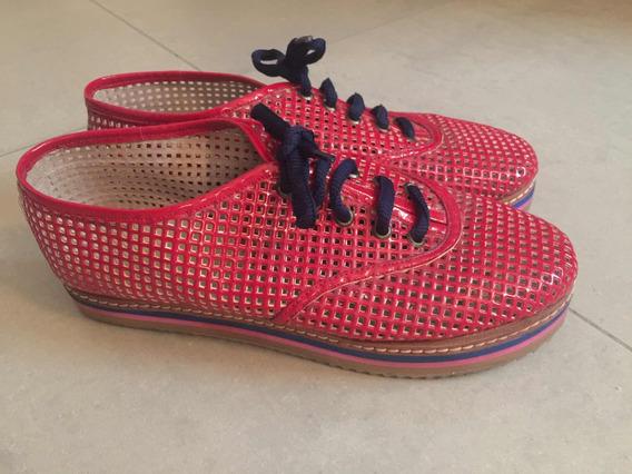 Zapatillas Rojas Caladas