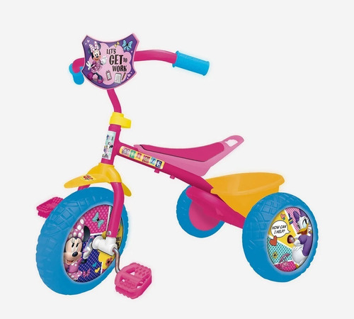 Triciclo Infantil Mid Minnie Mouse Disney Oficial Original