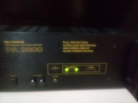 Amplificador De Potência Cygnus Pa 2800
