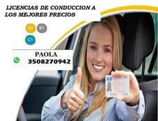 Licencias De Conducción En Bogota