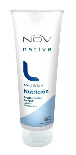 Baño De Crema Mascara Nov De Lino Nutricion X 220g
