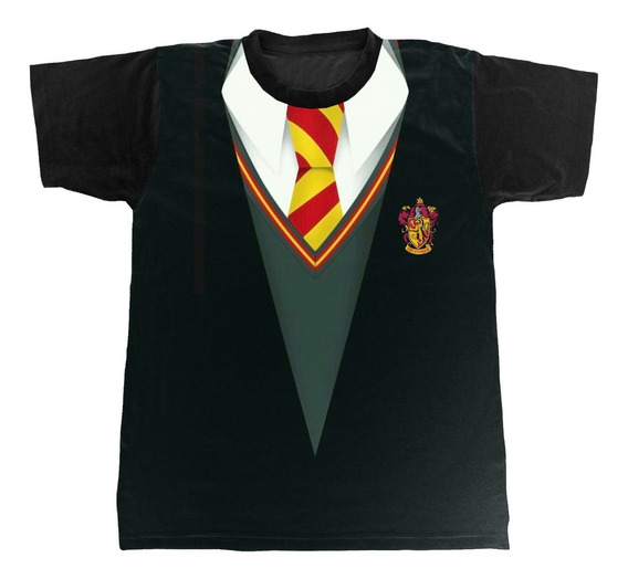 Camiseta - Harry Potter - Grifinória - Uniforme