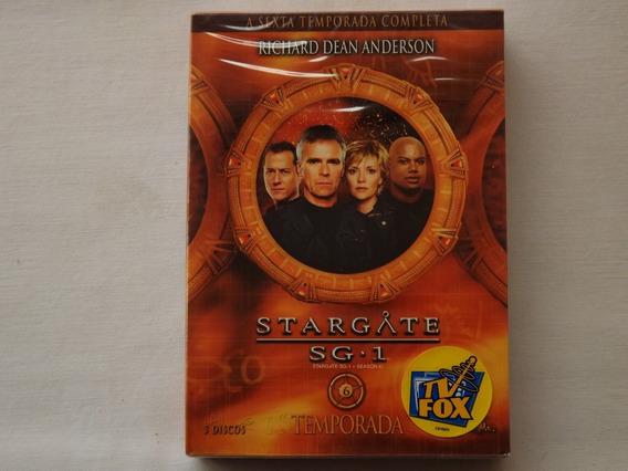 Box Dvd Stargate Sg.1 - 6ª Temporada - Original - Lacrado