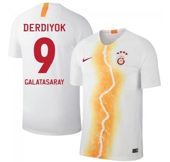 Camisa Galatasaray 3rd 18-19 Derdiyok 9 Importada