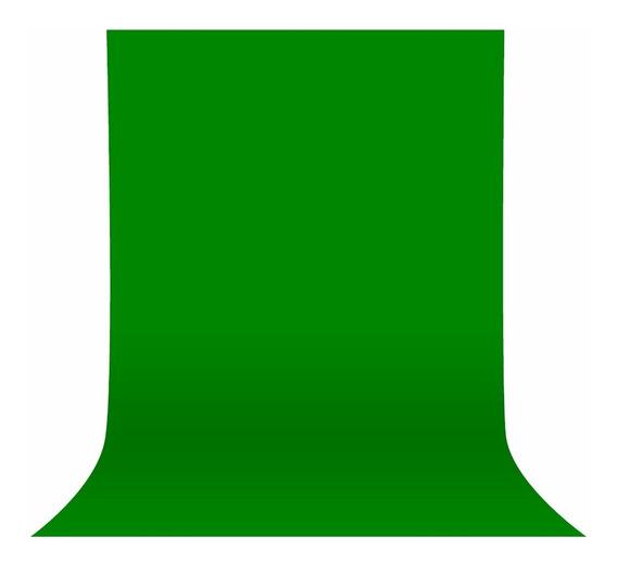 Fundo Infinito Tnt Verde Chroma Key 3x6 Gramatura 100