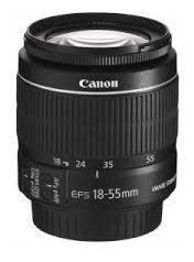 Lentes Canon 18-55 / 75-300.