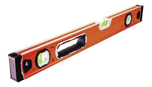 Nivel De Mano Aluminio  60 Cm 2 Caras 3 Gotas Magnetico