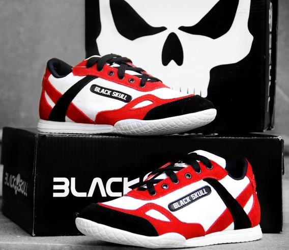 Tênis / Bota Black Skull Botinha Bs2020