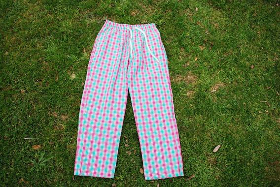 Pantalón Unisex 100% Algodón Acuadrille Pijama Oxford Pants