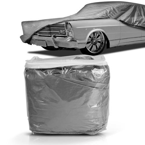 Imagem 1 de 3 de Capa Para Carro Impermeavel Forro Central Classicos Gg