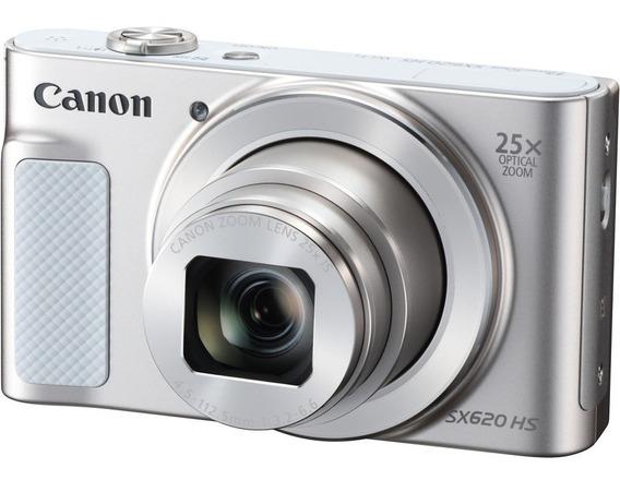 Câmera Profissional Digital Canon Powershot Sx620 Hs Prata