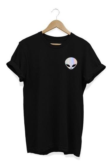 Camisa Feminina Baby Look Et Alien Espelhado Tumblr Tshirt